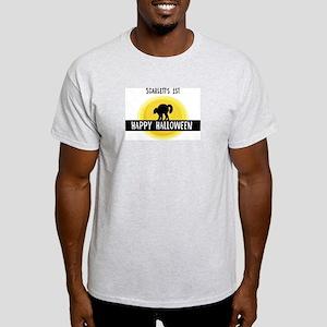 1st Halloween: Scarlett Light T-Shirt