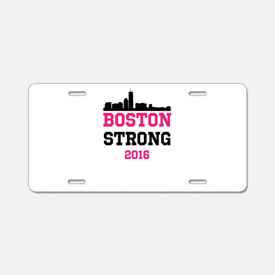 Boston Strong 2016 Aluminum License Plate