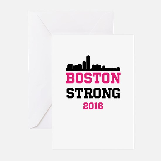 Boston Strong 2016 Greeting Cards