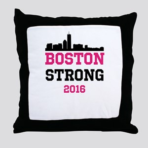 Boston Strong 2016 Throw Pillow