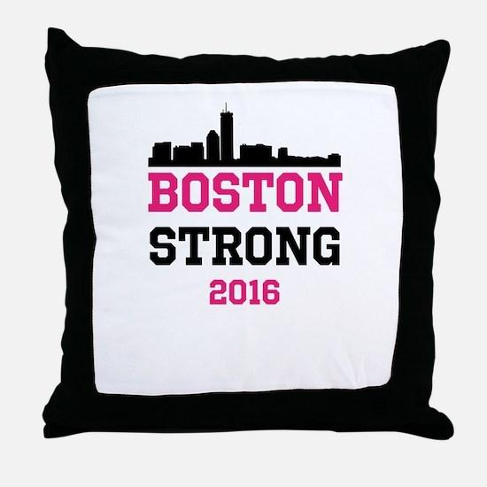 Boston Strong 2016 Throw Pillow