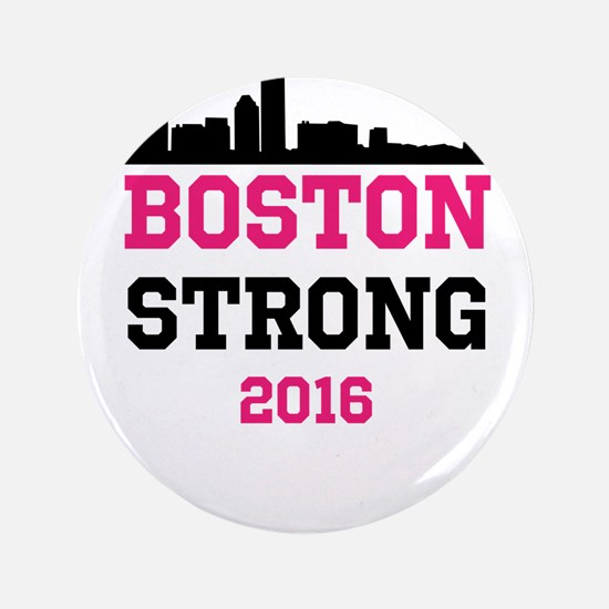 """Boston Strong 2016 3.5"""" Button (100 pack)"""