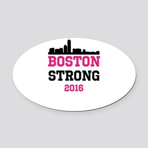 Boston Strong 2016 Oval Car Magnet