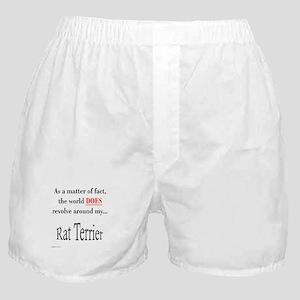 Rat Terrier World Boxer Shorts