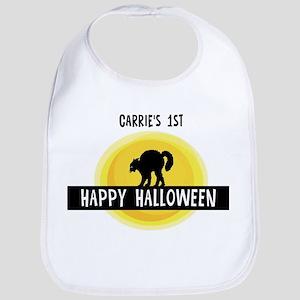 1st Halloween: Carrie Bib