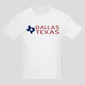 Texas: Dallas (State Shape & Star) T-Shirt