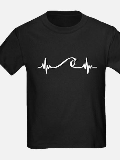Surfing Heartbeat T-Shirt