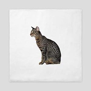 Savannah Cat Queen Duvet