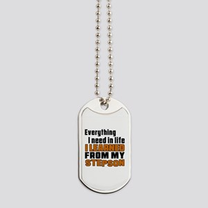 I Learned From My Stepson Dog Tags