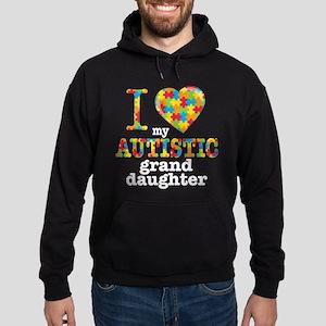 Autistic Granddaughter Hoodie (dark)