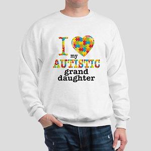 Autistic Granddaughter Sweatshirt