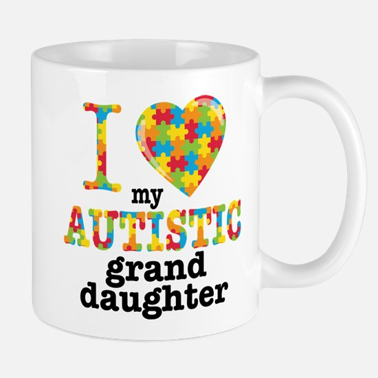 Autistic Granddaughter Mug
