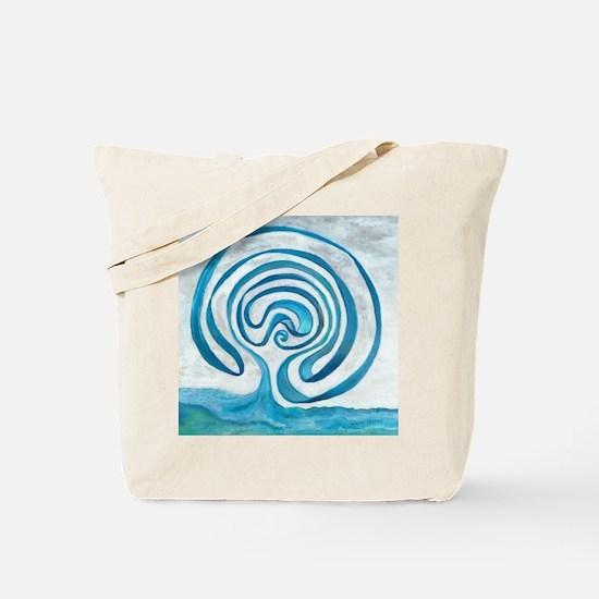 Unique Labyrinth Tote Bag
