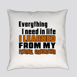 I Learned From My Son Everyday Pillow