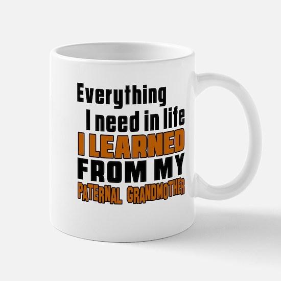I Learned From My Son Mug