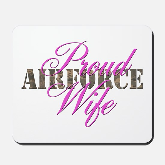Proud Air Force Wife ABU Mousepad