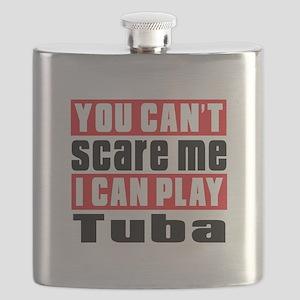 I Can Play Tuba Flask