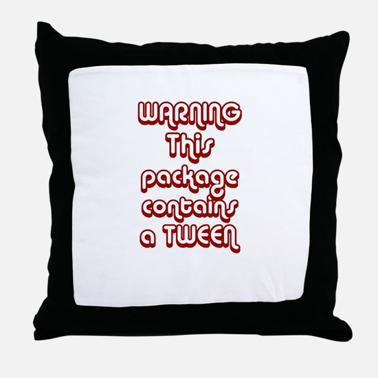 WARNING~This package contains Throw Pillow