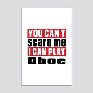 I Can Play Oboe Mini Poster Print