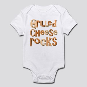 Grilled Cheese Rocks Lover Infant Bodysuit