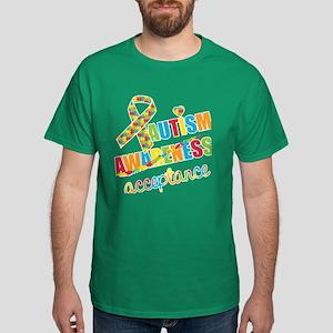 Autism Acceptance Dark T-Shirt