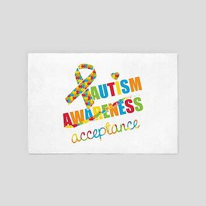 Autism Acceptance 4' x 6' Rug