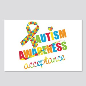 Autism Acceptance Postcards (Package of 8)
