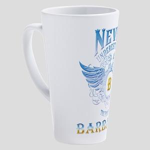 Never underestimate the power of B 17 oz Latte Mug