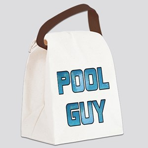 Pool Guy Canvas Lunch Bag