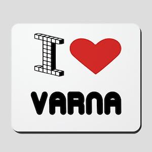 I Love Varna City Mousepad