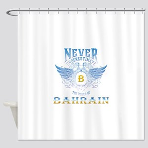 never underestimate the power of Ba Shower Curtain