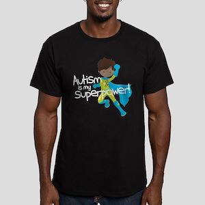 Autism Superpower Ethn Men's Fitted T-Shirt (dark)