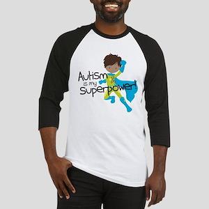 Autism Superpower Ethnic Baseball Jersey