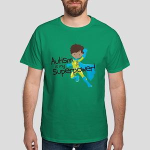 Autism Superpower Ethnic Dark T-Shirt
