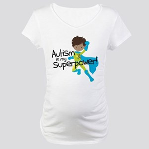 Autism Superpower Ethnic Maternity T-Shirt