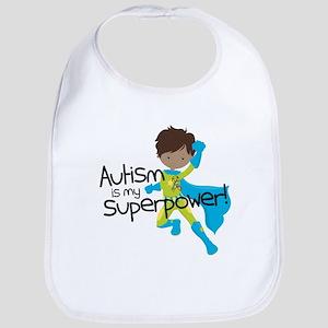 Autism Superpower Ethnic Bib