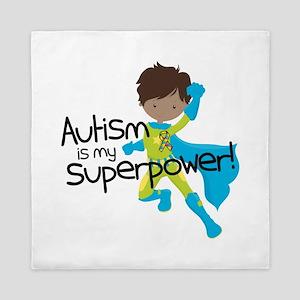 Autism Superpower Ethnic Queen Duvet