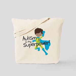 Autism Superpower Ethnic Tote Bag
