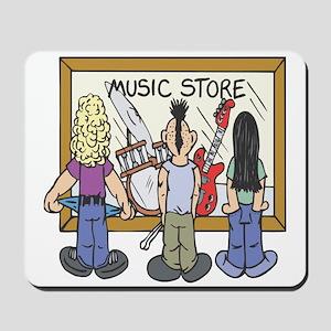 Struggling Musicians Mousepad