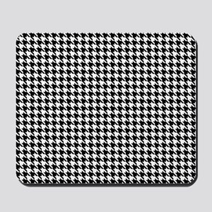 Houndstooth pattern Mousepad