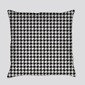 Houndstooth pattern Everyday Pillow