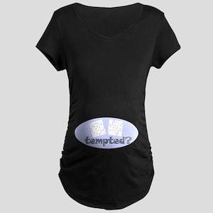 Sudoku ... tempted? Maternity Dark T-Shirt