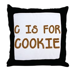 cookie Throw Pillow