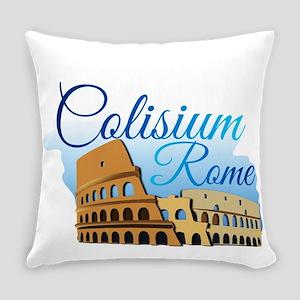 coliseum Roma Everyday Pillow