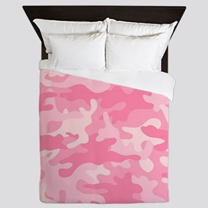 Girly Camouflage Queen Duvet
