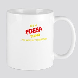 It's FOSSA thing, you wouldn't understand Mugs