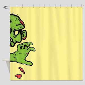 Zombie Attack Shower Curtain