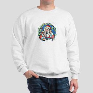 Peek'n Through Santa's Window - Sweatshirt