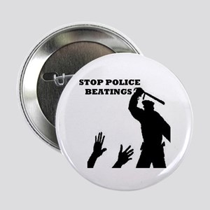 Stop Police Beatings Button