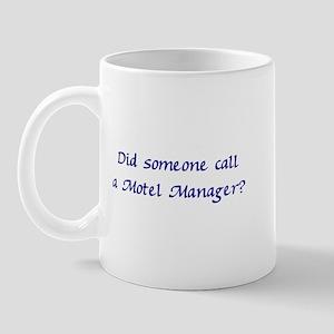 Motel Manager Mug
